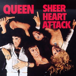 Copertina di Queen Sheer Heart Attack