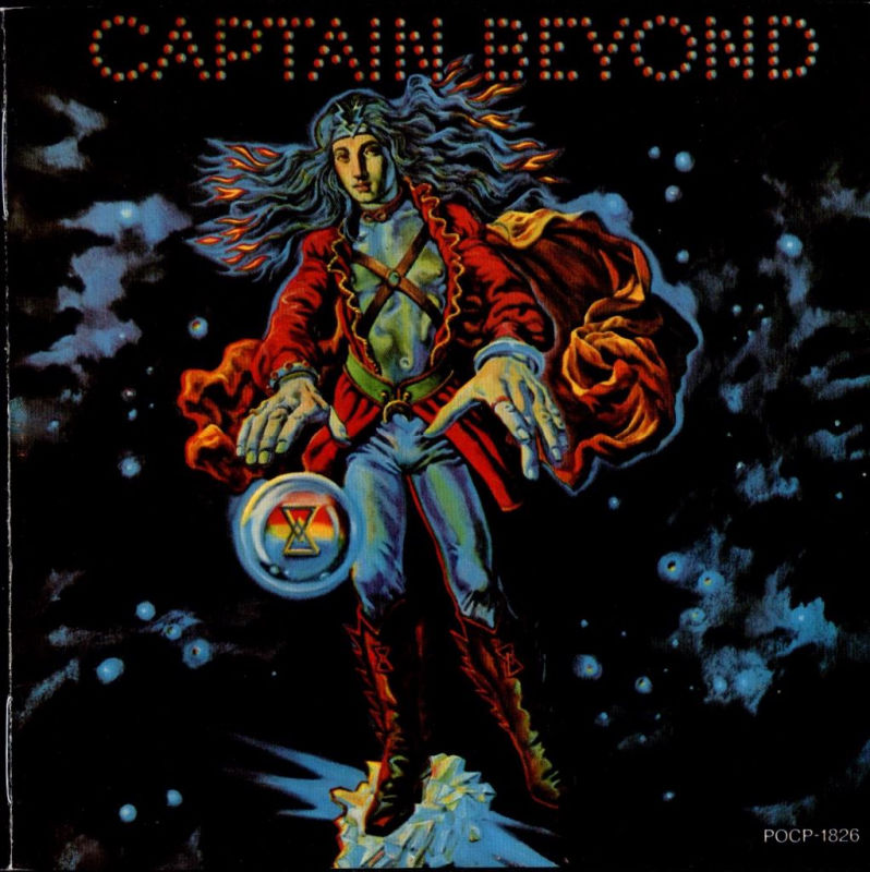 Copertina di Captain Beyond Captain Beyond