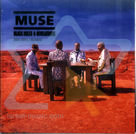 Copertina di Muse Black Holes And Revelations