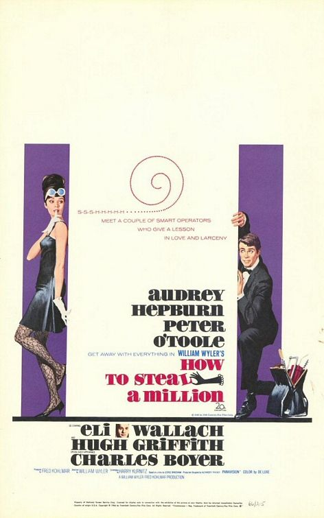 Copertina di William Wyler How To Steal A Million
