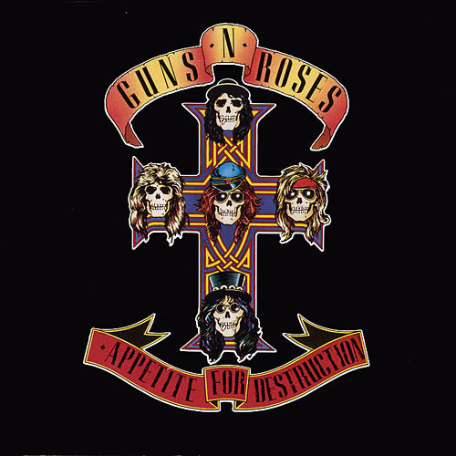 Copertina di Guns N' Roses Appetite For Destruction