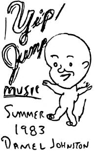 Copertina di Daniel Johnston Yip/Jump Music