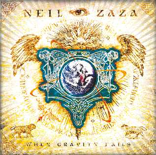 Copertina di Neil Zaza When Gravity Fails
