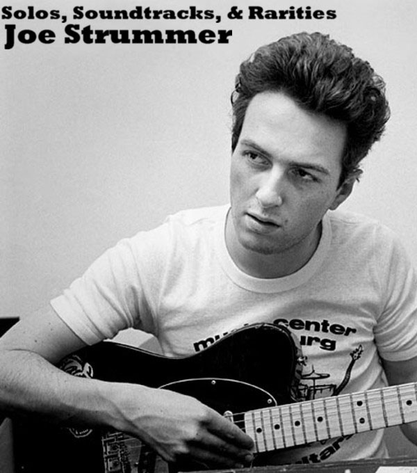 Copertina di Joe Strummer Burning Lights