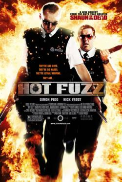 Copertina di Edgar Wright Hot Fuzz