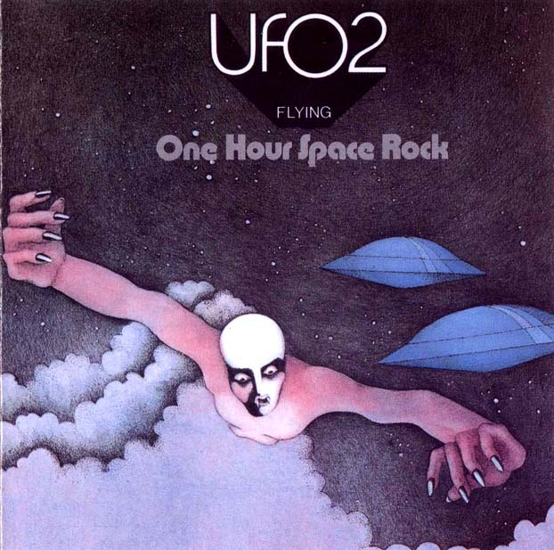 Copertina di UFO UFO 2: flying (one hour space rock)