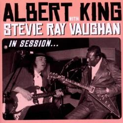 Copertina di Albert King and Stevie Ray Vaughan In Session...