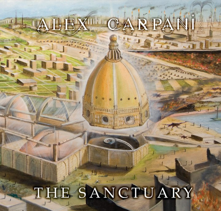 Copertina di Alex Carpani The Sanctuary