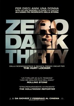 Copertina di Kathryn Bigelow Zero Dark Thirty