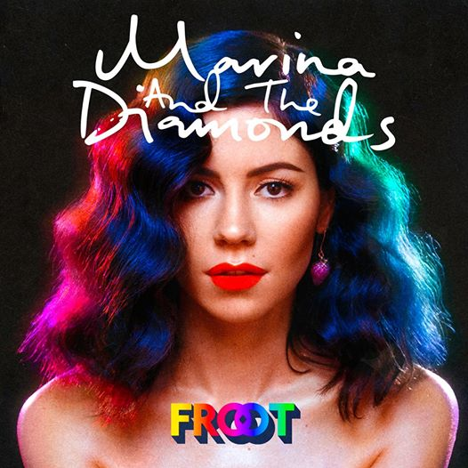 Copertina di Marina and The Diamonds FROOT