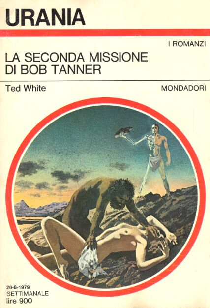 Copertina di Ted White The Spawn of Death Machine