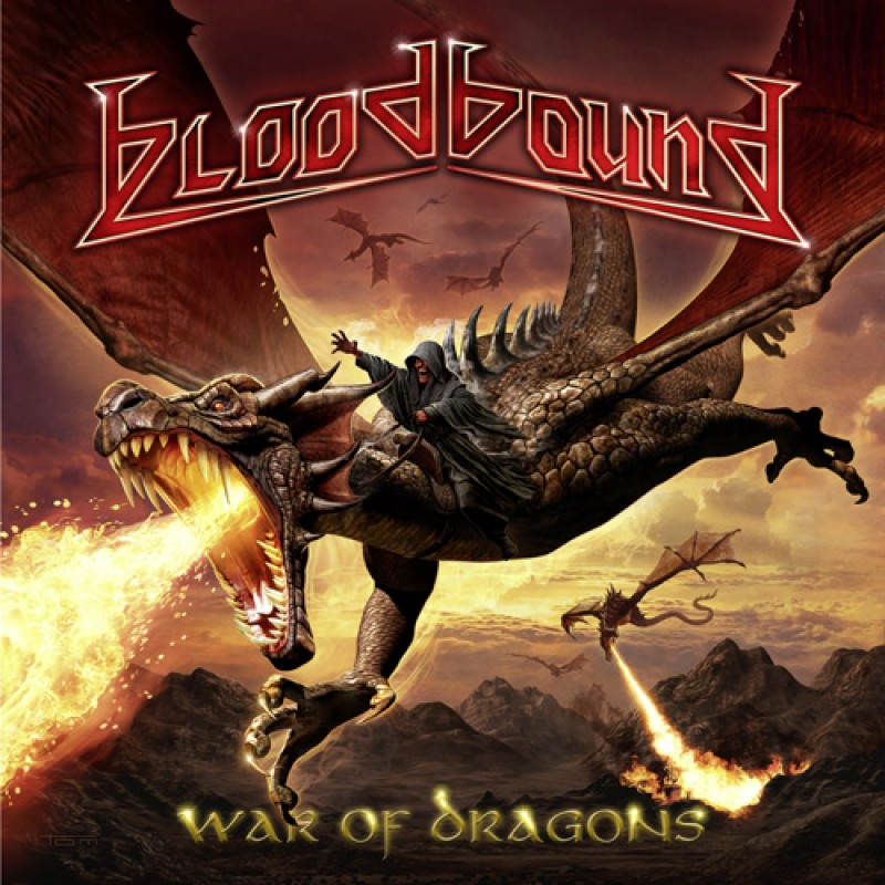 Copertina di Bloodbound War Of Dragons