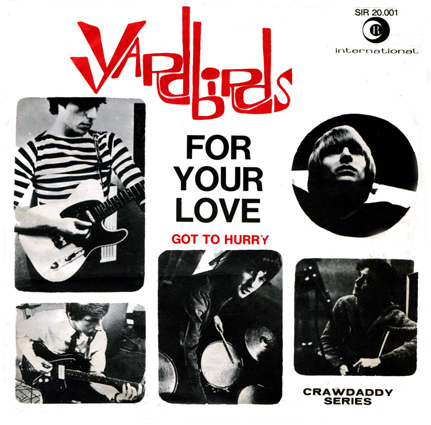 Copertina di The Yardbirds For Your Love