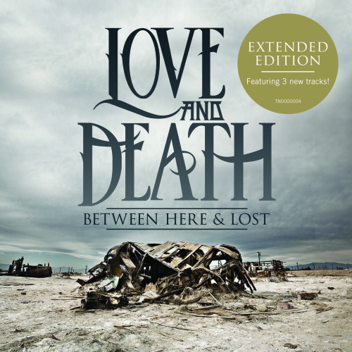 Copertina di Love and Death Between Here & Lost