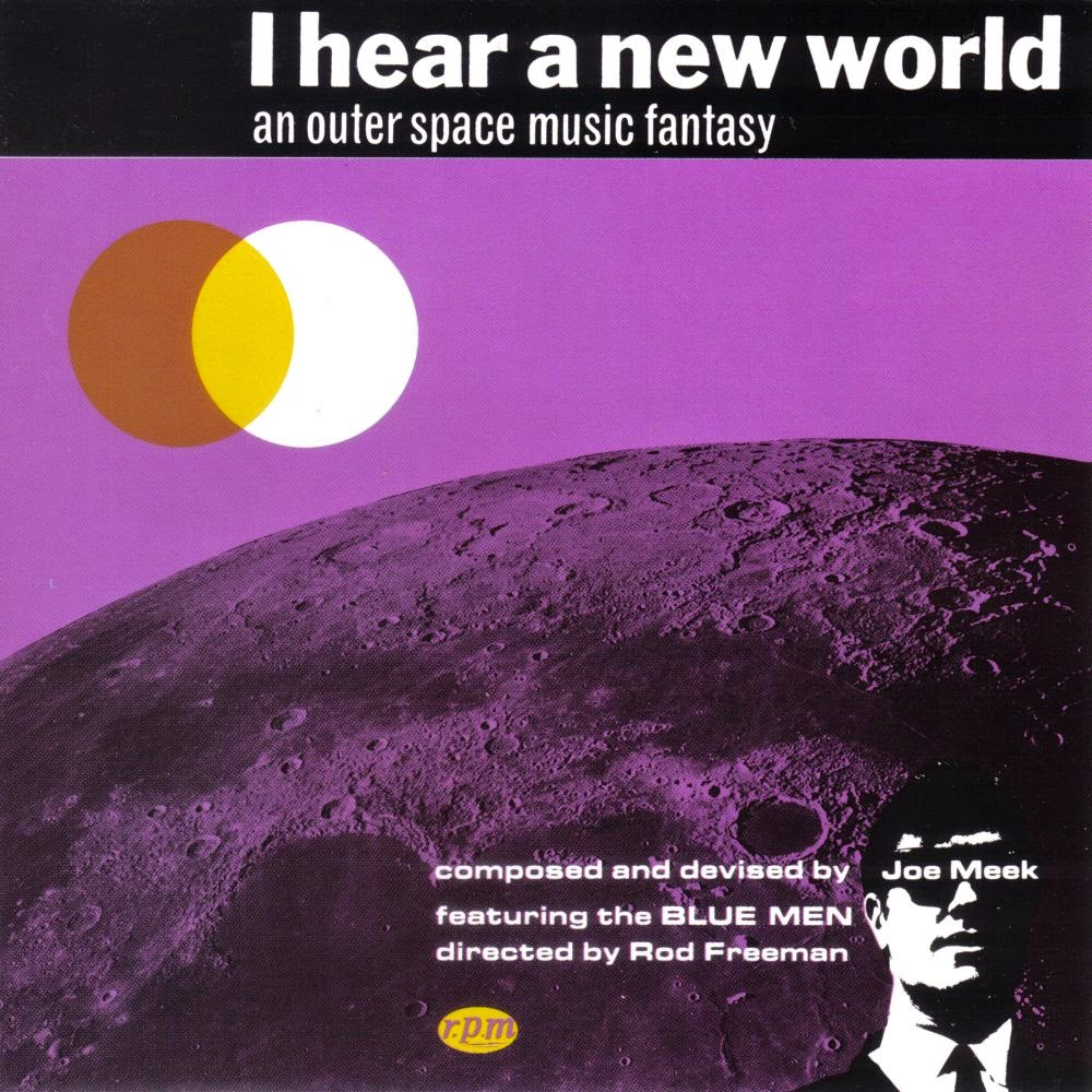 Copertina di Joe Meek I Hear a New World