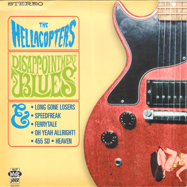 Copertina di The Hellacopters Disappointment Blues