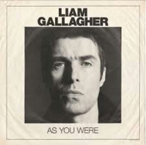Copertina di Liam Gallagher As You Were