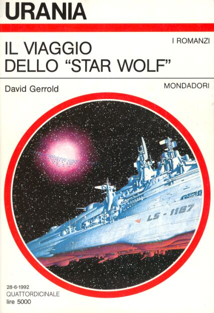 Copertina di David Gerrold The Voyage of the Star Wolf