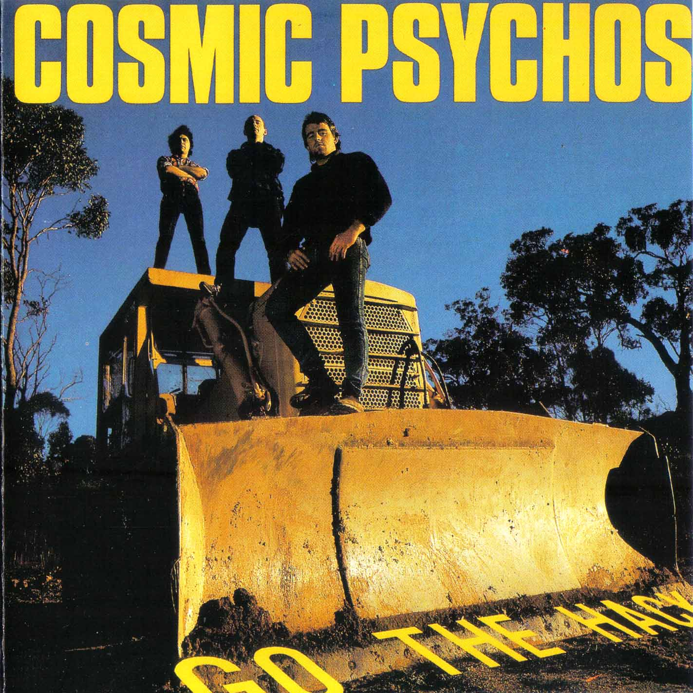 Copertina di Cosmic Psychos Go the Hack