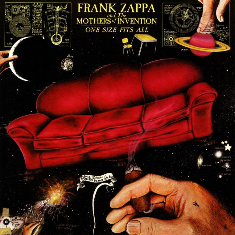 Copertina di Frank Zappa and the Mothers of Invention One Size Fits All