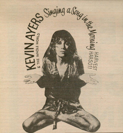 Copertina di Kevin Ayers Singing a Song in the Morning