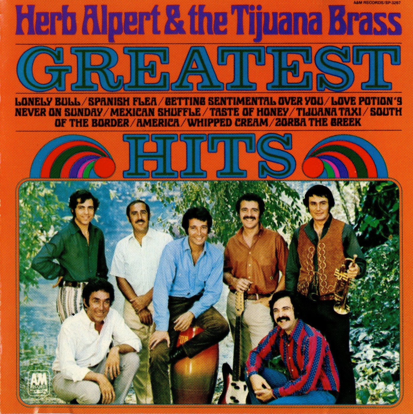 Copertina di Herb Alpert & The Tijuana Brass Greatest Hits