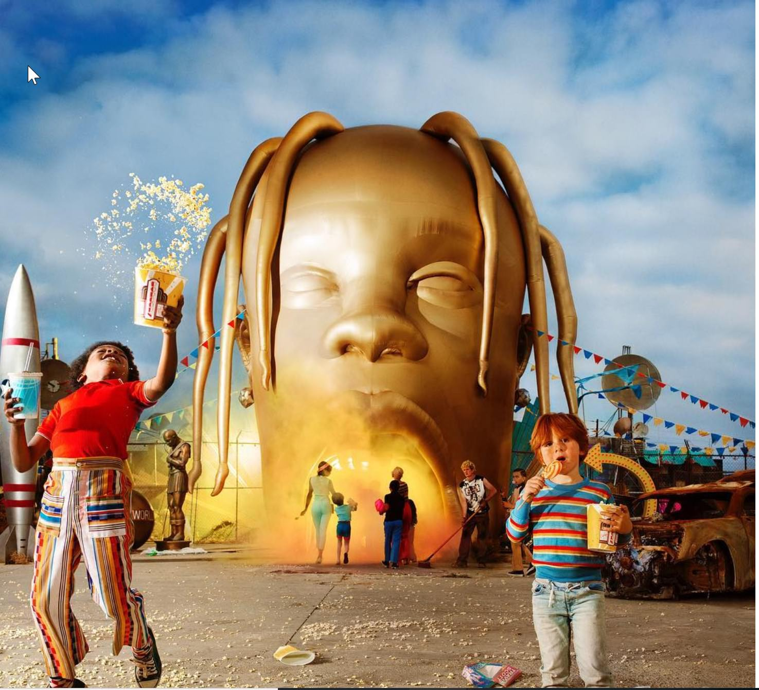 Copertina di Travis Scott Astroworld