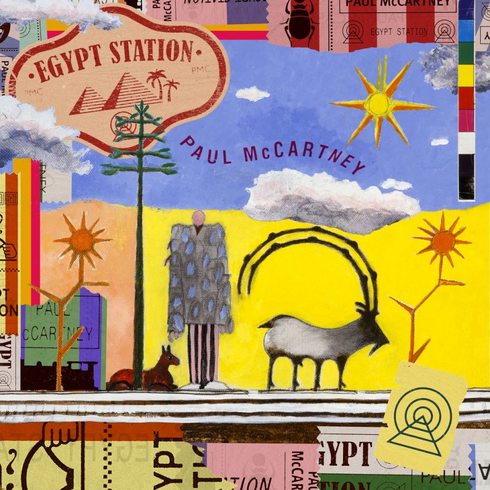 Copertina di Paul McCartney Egypt Station