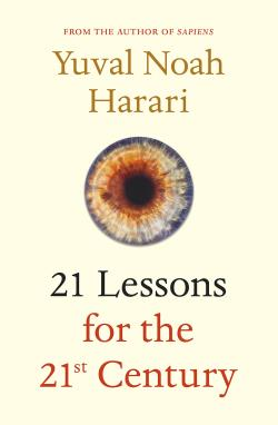 Copertina di Yuval Noah Harari 21 Lessons for the 21st Century