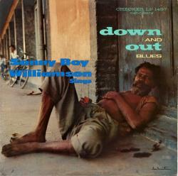 Copertina di Sonny Boy Williamson Down and Out Blues