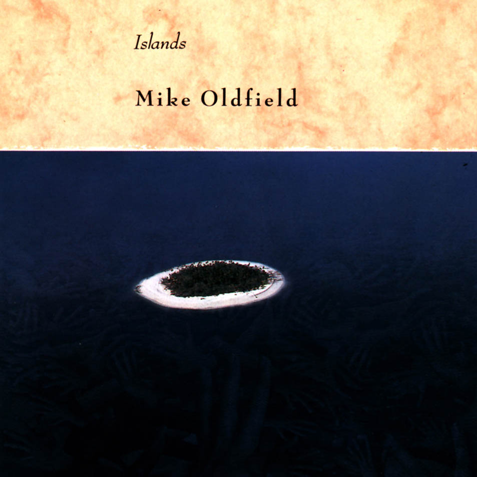 Copertina di Mike Oldfield Islands