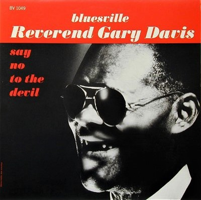Copertina di Rev. Gary Davis Say No to the Devil