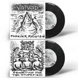 Copertina di Voivod - Napalm Death Forever Mountain - Phonetics for the Stupefied